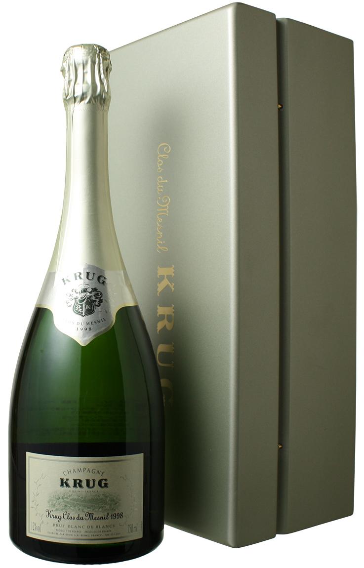 【ヤマト運輸で厳重梱包配送!】クリュッグ クロ・デュ・メニル [1998] <白> <ワイン/シャンパン>