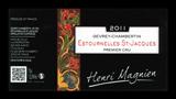 【ヤマト運輸で厳重梱包配送!】ジュヴレ・シャンベルタン プルミエ・クリュ エストゥーネル・サン・ジャック [2016] アンリ・マニャン <赤> <ワイン/ブルゴーニュ>【■2270416】