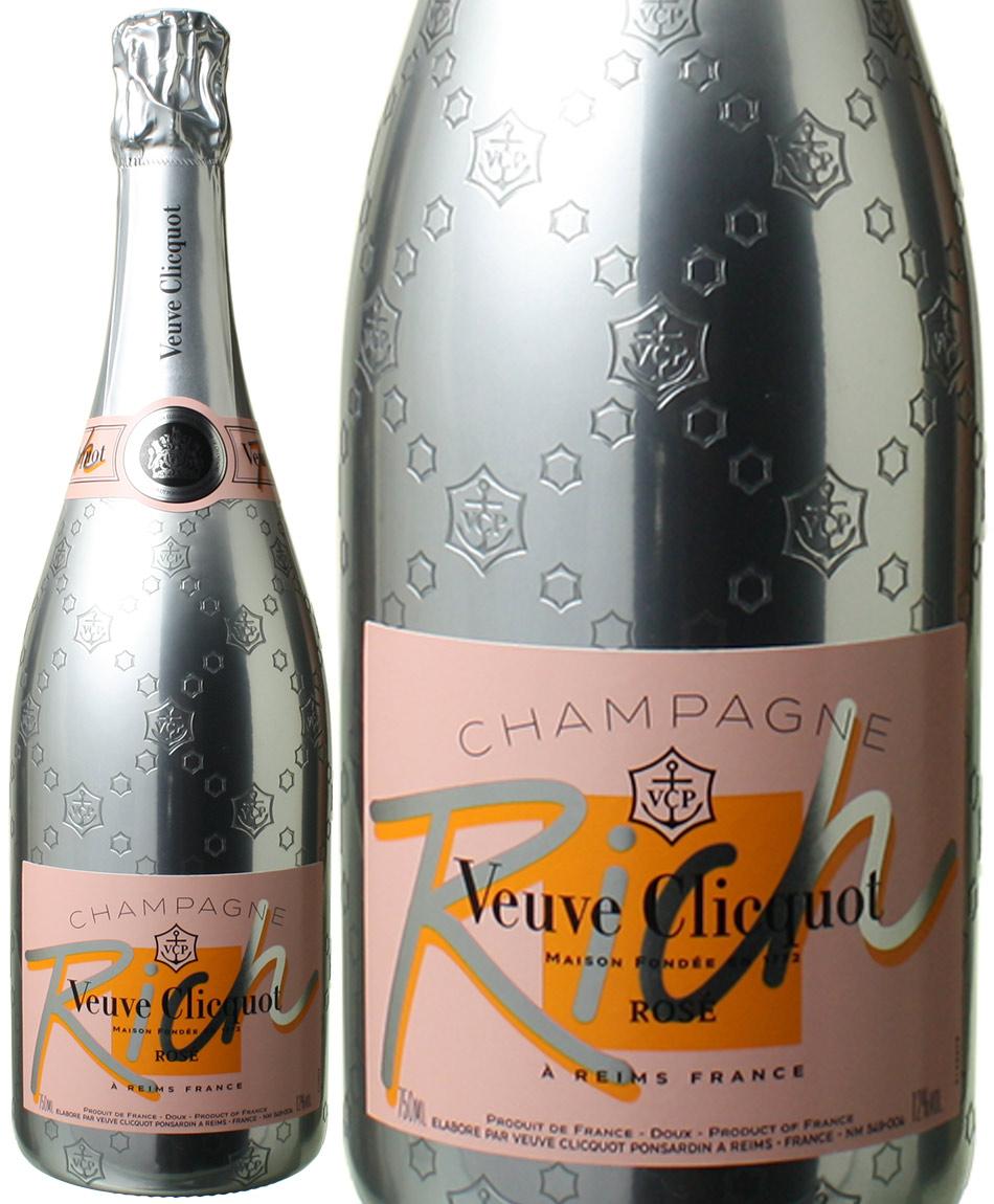 【送料無料】ヴーヴ・クリコ リッチ・ロゼ NV <ロゼ> <ワイン/シャンパン>