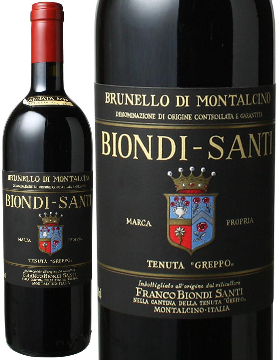 ブルネッロ・ディ・モンタルチーノ  [2005] ビオンディ・サンティ <赤> <ワイン/イタリア>