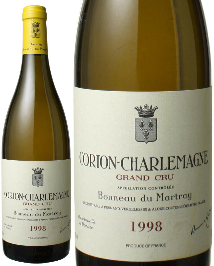 【送料無料】コルトン・シャルルマーニュ [1998] ボノー・デュ・マルトレイ <白> <ワイン/ブルゴーニュ>
