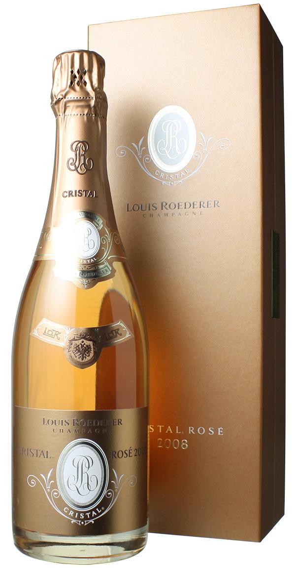 【送料無料】ルイ・ロデレール クリスタル・ロゼ [2008] <ロゼ> <ワイン/シャンパン>