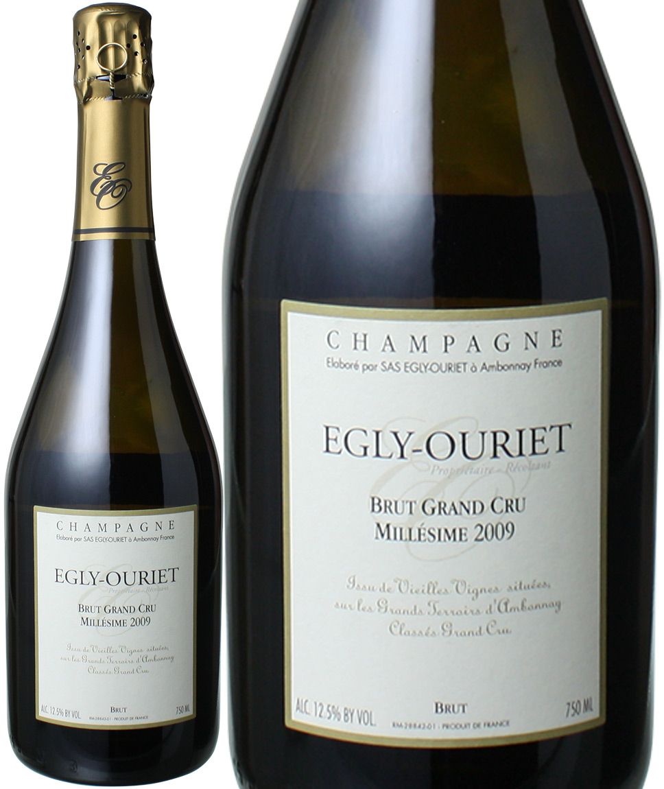 【送料無料】エグリ・ウーリエ ブリュット・プリスティッジ ミレジメ グラン・クリュ  [2009] <白> <ワイン/シャンパン>