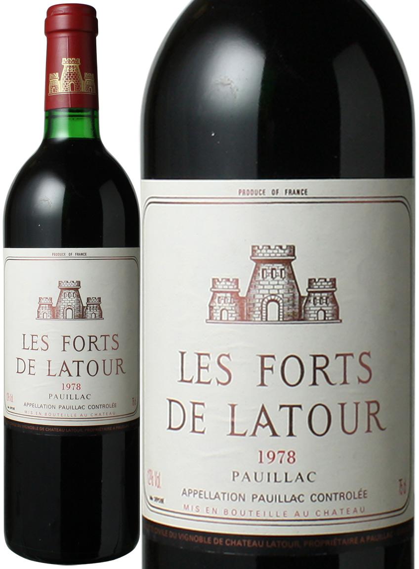 【送料無料】レ・フォール・ド・ラトゥール [1978] <赤> <ワイン/ボルドー>