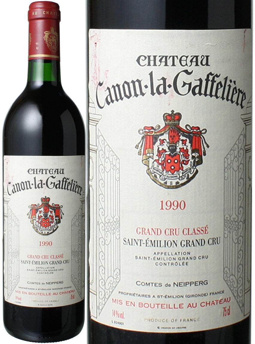 【送料無料】シャトー・カノン・ラ・ガフリエール [1990] <赤> <ワイン/ボルドー>