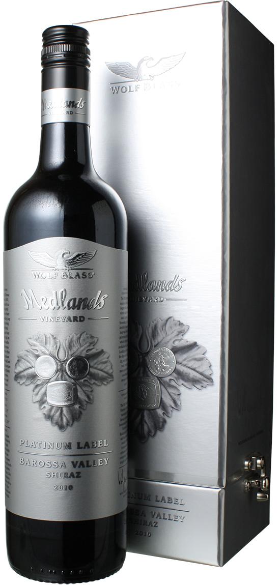 【送料無料】ウルフ・ブラス プラチナラベル シラーズ [2010] <赤> <ワイン/オーストラリア>