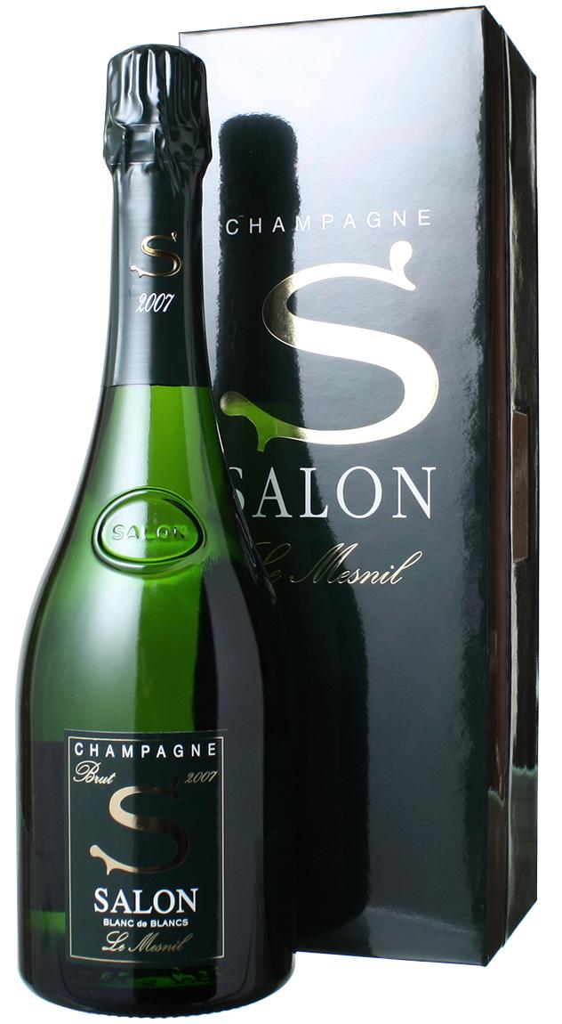 【送料無料】サロン ブラン・ド・ブラン ギフトボックス入り [2007] <白> <ワイン/シャンパン>