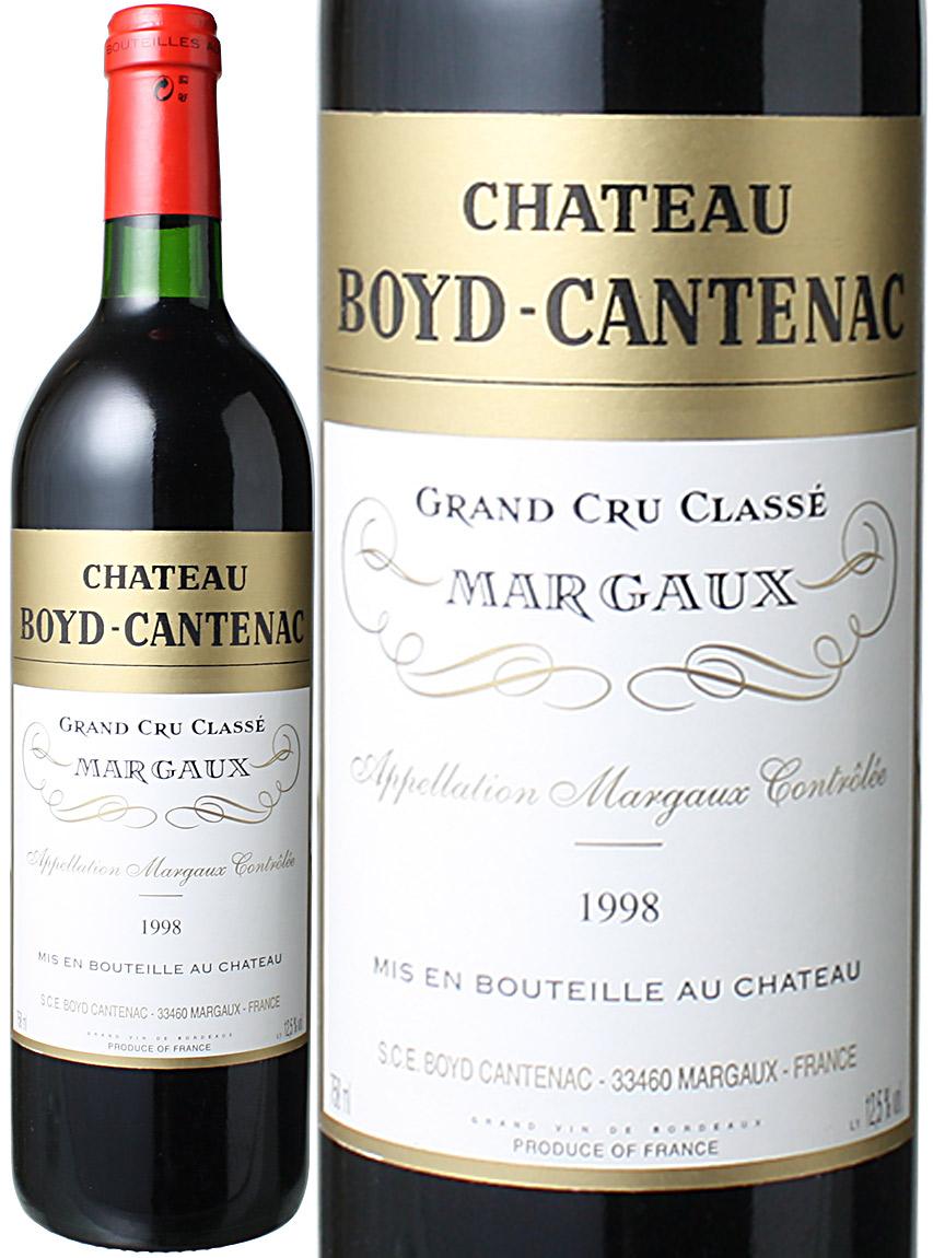 【送料無料】シャトー・ボイド・カントナック [1998] <赤> <ワイン/ボルドー>