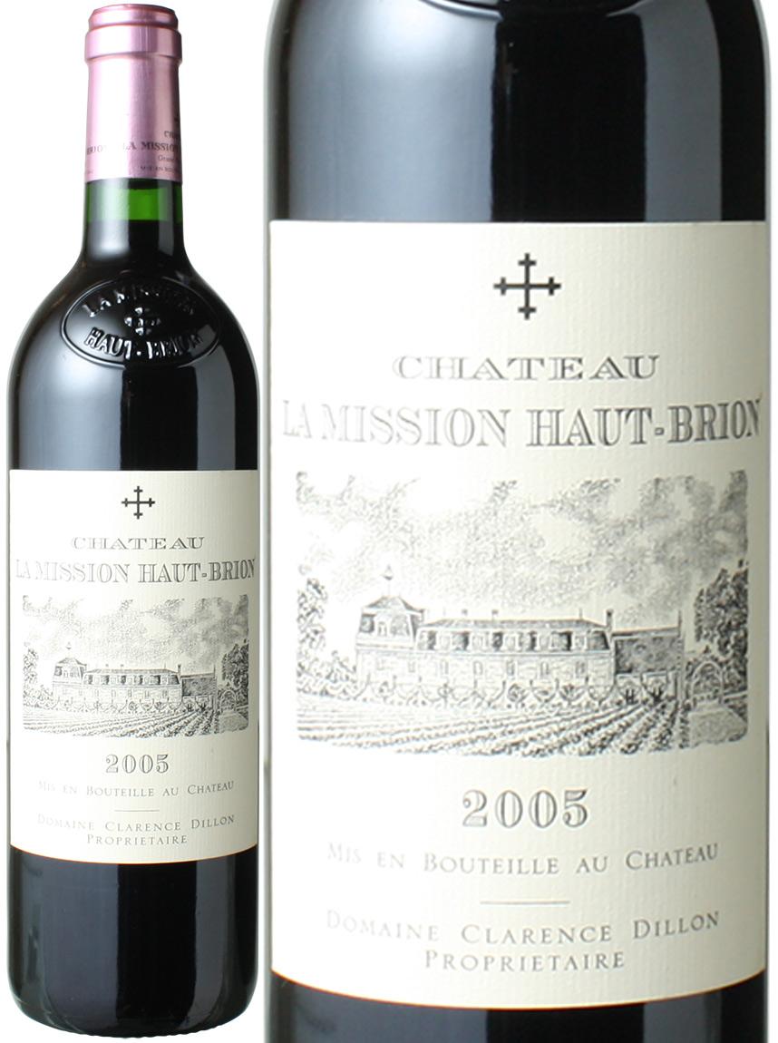 【送料無料】シャトー・ラ・ミッション・オー・ブリオン [2005] <赤> <ワイン/ボルドー>