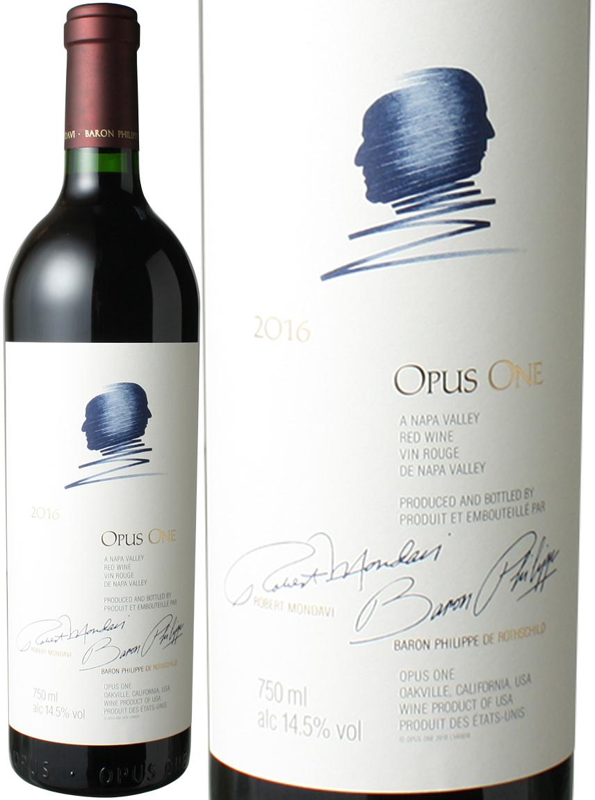 【送料無料】オーパス・ワン [2016] モンダヴィ&バロン・フィリップ <赤> <ワイン/アメリカ>