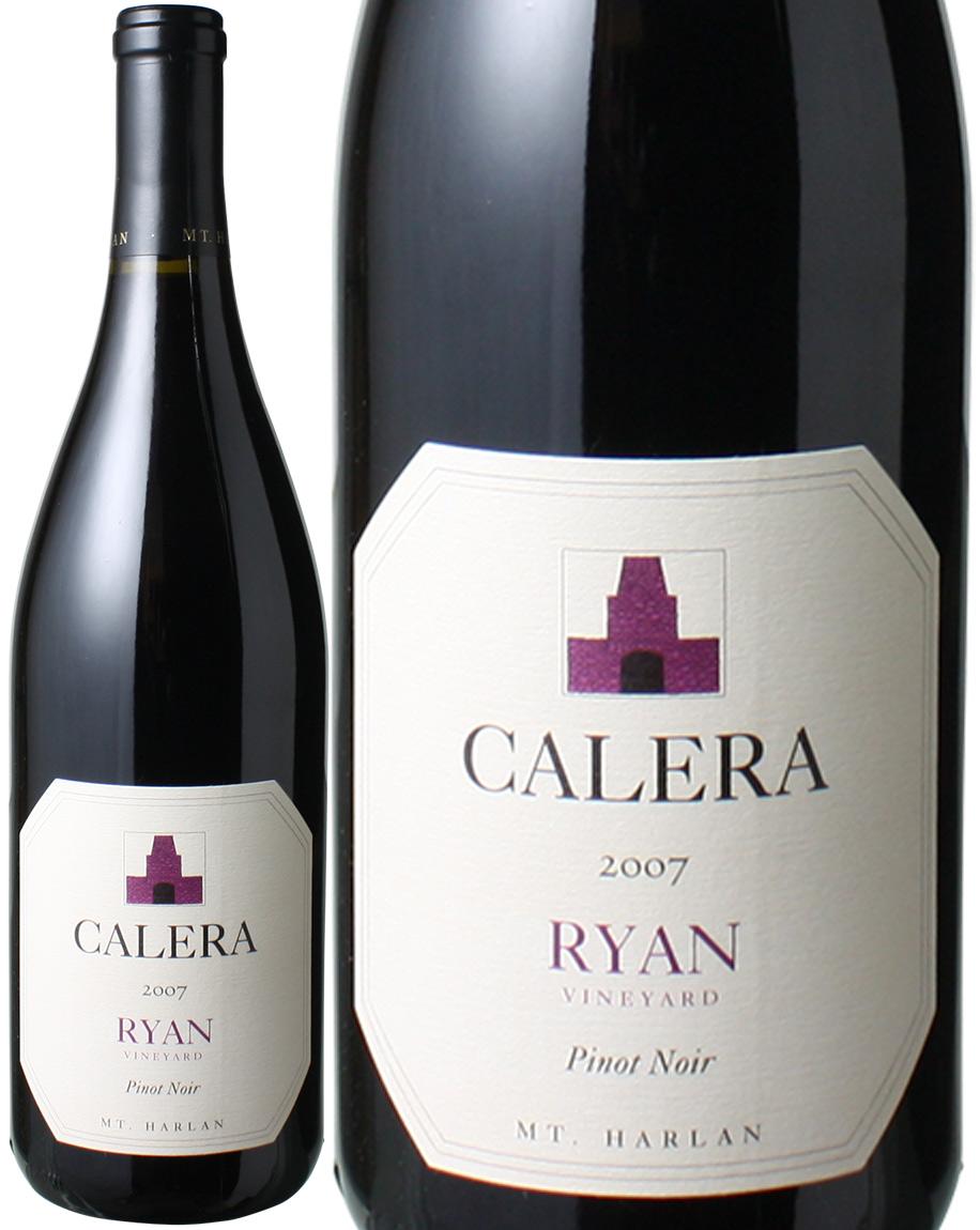 【送料無料】カレラ ライアン マウント・ハーラン ピノ・ノワール [2007] <赤> <ワイン/アメリカ>