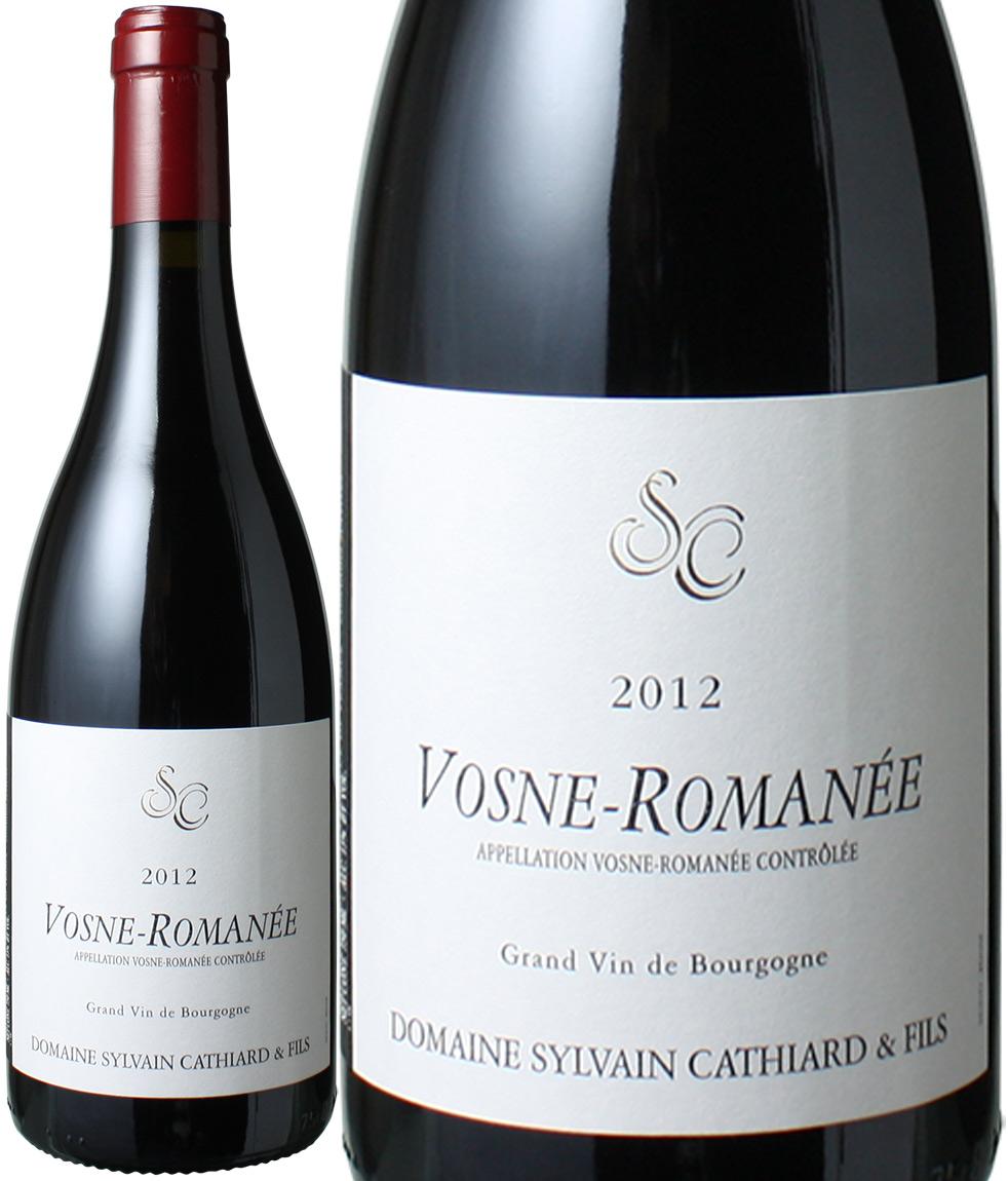 【送料無料】ヴォーヌ・ロマネ [2012] シルヴァン・カティアール <赤> <ワイン/ブルゴーニュ>