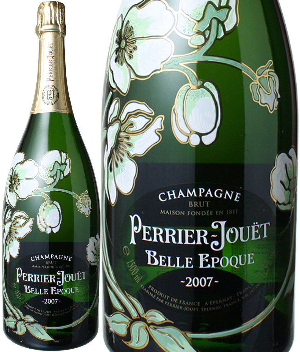【送料無料】ペリエ・ジュエ ベル・エポック マグナム1.5L [2007] <白> <ワイン/シャンパン>