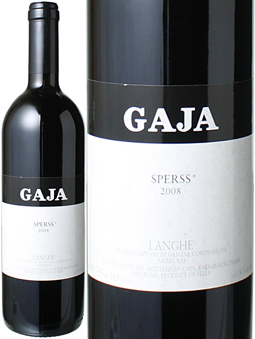 【送料無料】ランゲ スペルス [2008] ガヤ <赤> <ワイン/イタリア>