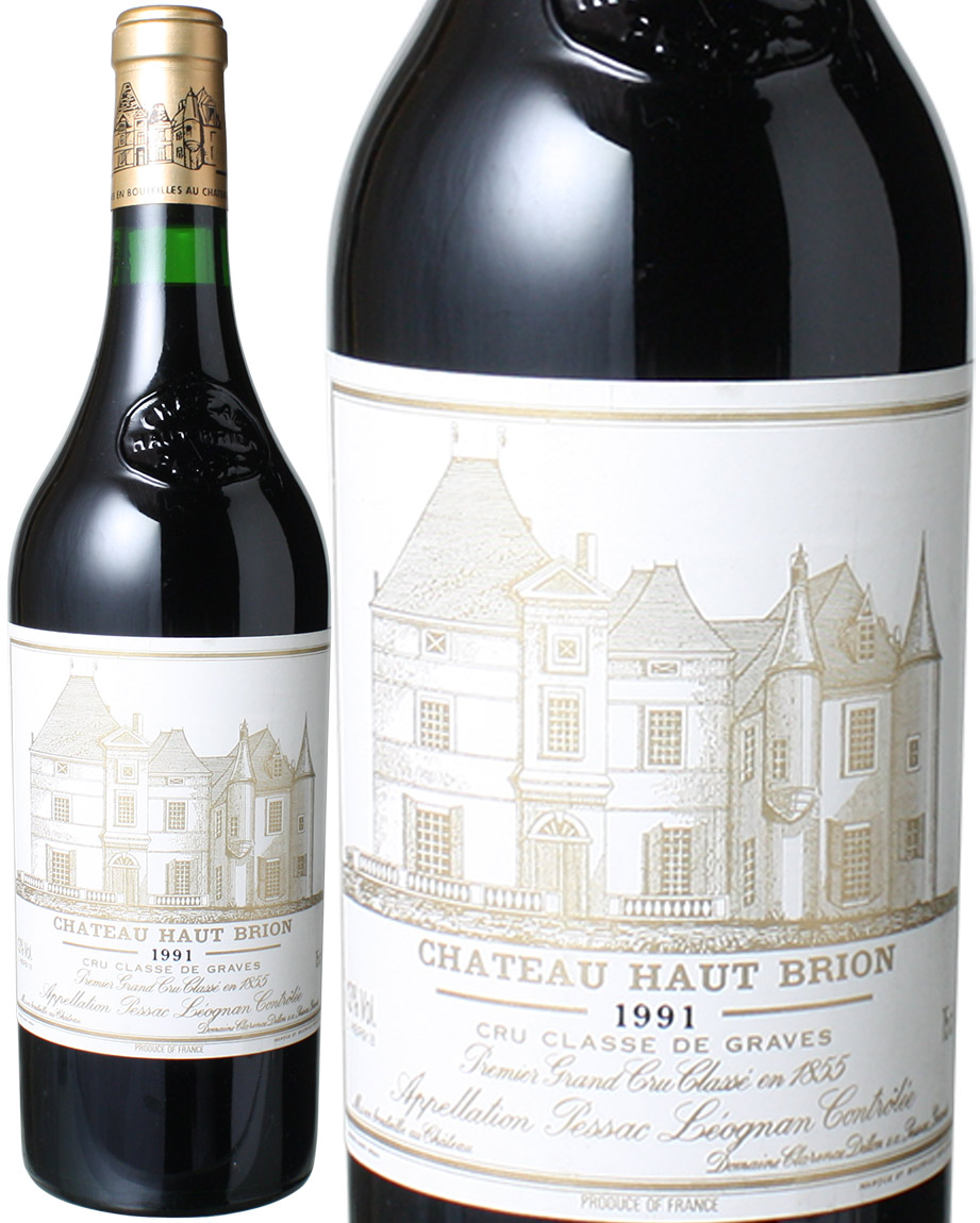 【送料無料】シャトー・オー・ブリオン [1991] <赤> <ワイン/ボルドー>
