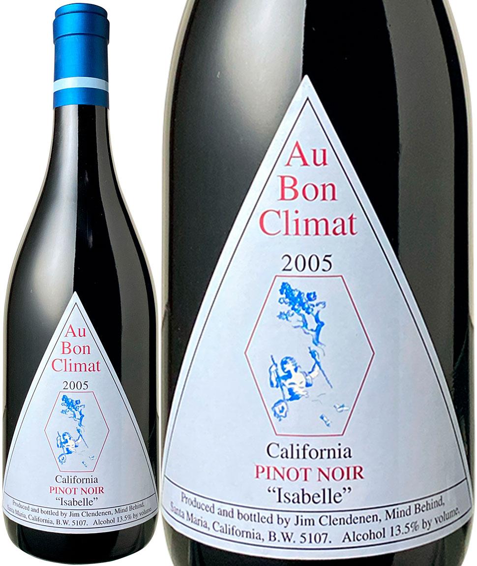 ファッションの 【送料無料】オー・ボン・クリマ ピノ・ノワール イザベル [2005] <赤> <ワイン/アメリカ>, 水着のハッピークローゼット 01cc0a0f