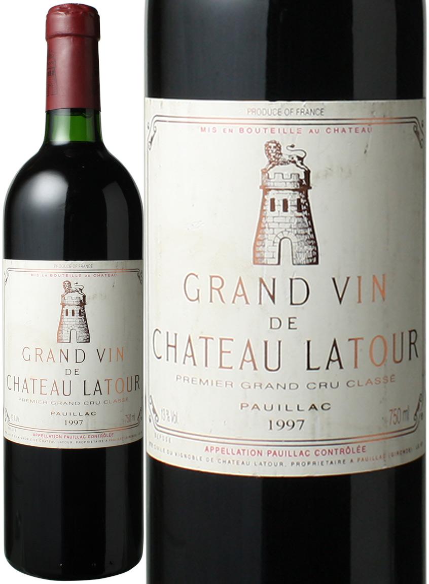 【送料無料】シャトー・ラトゥール [1997] <赤> <ワイン/ボルドー>
