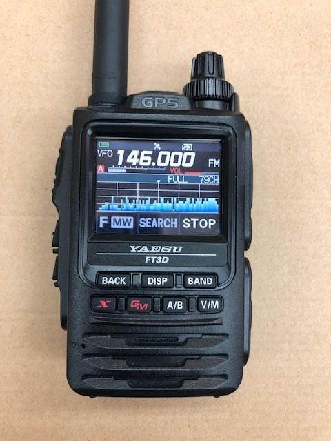 新製品【新製品】FT-3D C4FMデジタルWiES-X対応 144/430MHz帯デュアルバンドトランシーバー YAESU