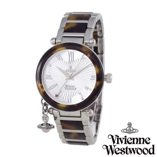 【送料無料】 Vivienne Westwood ヴィヴィアンウエストウッド ヴィヴィアン ウエストウッド レディース 腕時計 時計 とけい ビビアン Orb オーブ VV006SLBR 【あす楽対応】【プレゼント】【セール】