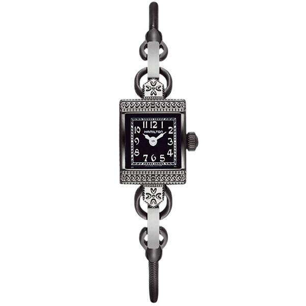 HAMILTON ハミルトン Lady Hamilton Vintage レディース 腕時計 ヴィンテージ ブラック H31281113 時計 とけい 【RCP】【プレゼント】