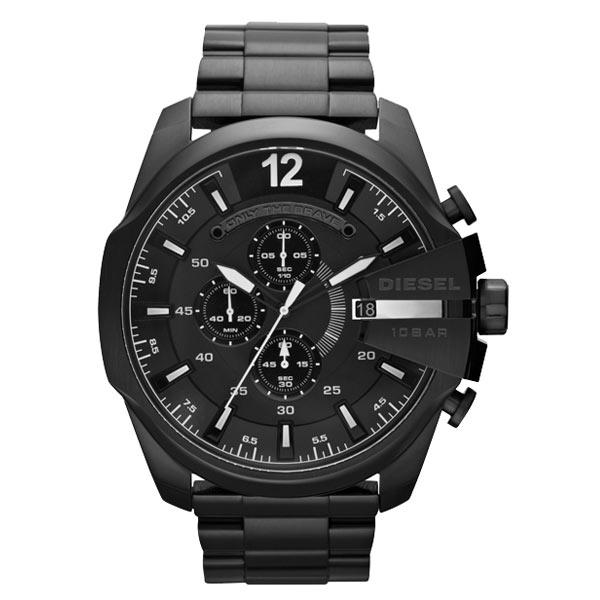 【送料無料】 ディーゼル 時計 DIESEL 腕時計 DZ4283 メンズ クロノグラフ ブラック MEGA CHIEF メガ チーフ とけい ウォッチ【あす楽対応】【ブランド】【プレゼント】【セール】