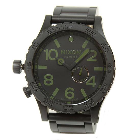 NIXON ニクソン メンズ 腕時計 A057-1042 A0571042 51-30 TIDE フィフティーワンサーティー マットブラック×サープラス にくそん 時計 とけい 【RCP】【プレゼント】