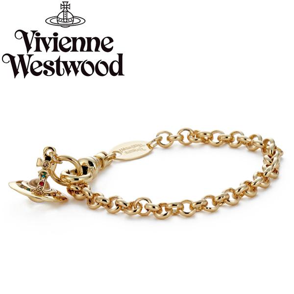 【送料無料】ヴィヴィアン ウエストウッド ブレスレット Vivienne Westwood アクセサリー ビビアン NEW PETITE ORB BRACELET GOLD 61020057-R001 741467B-2 ヴィヴィアン・ウエストウッド ビビアン 【あす楽対応】【ブランド】