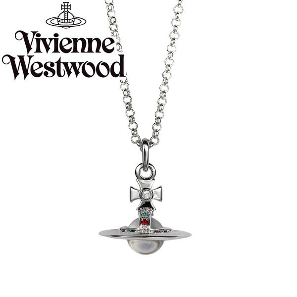 【送料無料】 ヴィヴィアン ウエストウッド ネックレス Vivienne Westwood ペンダント アクセサリー NEW TINY ORB PENDANT 752014B-1 752014B/1 ヴィヴィアン・ウエストウッド ビビアン 【あす楽対応】【ブランド】【セール】
