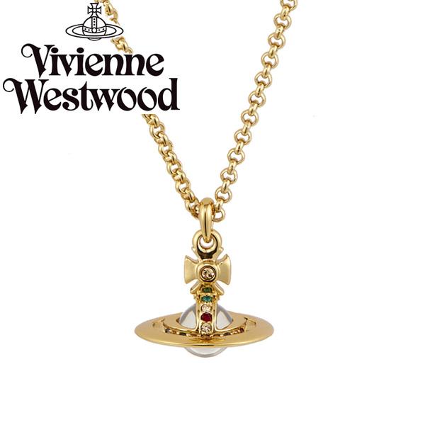 【送料無料】 ヴィヴィアン ウエストウッド ネックレス Vivienne Westwood ペンダント アクセサリー ビビアン NEW TINY ORB PENDANT GOLD 63020097-R001 752014B-2 ヴィヴィアン・ウエストウッド【あす楽対応】【プレゼント】