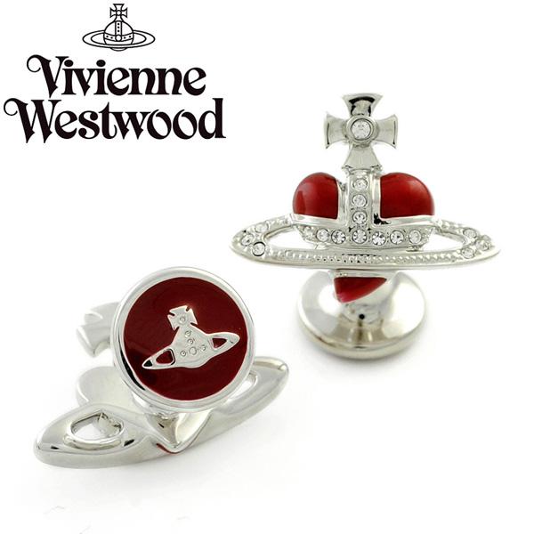 【送料無料】 ヴィヴィアン ウエストウッド カフス Vivienne Westwood カフリンクス アクセサリー ビビアン DIAMANTE HEART CAFFLINKS 770272B-1 770272B/1 ヴィヴィアン・ウエストウッド 【セール】