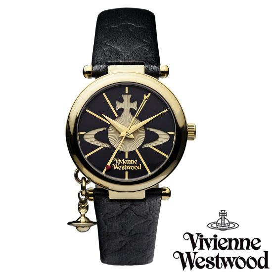 【送料無料】 Vivienne Westwood ヴィヴィアンウエストウッド ヴィヴィアン ウエストウッド レディース 腕時計 時計 とけい ビビアン オーブ VV006BKGD 【あす楽対応】【プレゼント】【セール】