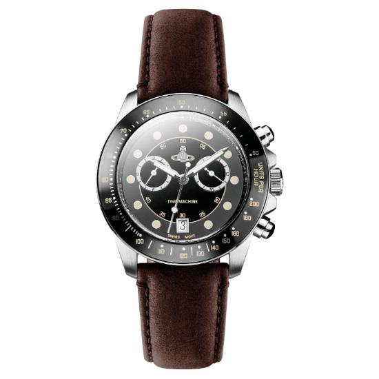 【送料無料】ヴィヴィアン ウエストウッド 時計 Vivienne Westwood 腕時計 ヴィヴィアン ウエストウッド メンズ クロノグラフ ビビアン VV118BKBR ヴィヴィアン・ウエストウッド 【RCP】