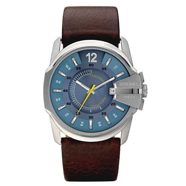 【送料無料】 DIESEL ディーゼル メンズ 腕時計 時計 DZ1399 MASTER CHIEF マスターチーフ ブラウン×ライトブルー【あす楽対応】【ブランド】【プレゼント】【ラッキーシール対応】【セール】