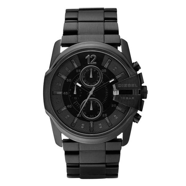【送料無料】 ディーゼル 時計 DIESEL 腕時計 DZ4180 メンズ クロノグラフ ブラック とけい ウォッチ MASTER CHIEF マスターチーフ 【プレゼント】【ブランド】【ラッキーシール対応】【セール】