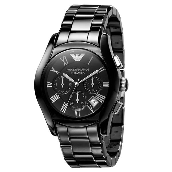 【超目玉】 EMPORIO ARMANI エンポリオアルマーニ メンズ 腕時計 クロノグラフ AR1400 CERAMICA セラミック エンポリオ・アルマーニ エンポリ アルマーニ 時計 とけい 【送料無料】【プレゼント】【セール】