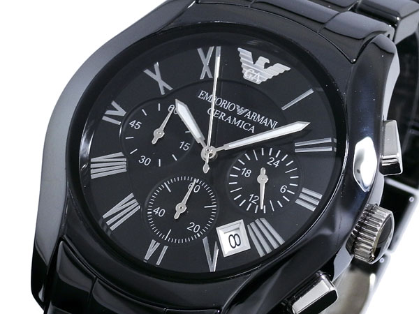 【超目玉】 EMPORIO ARMANI エンポリオアルマーニ メンズ 腕時計 クロノグラフ AR1400 CERAMICA セラミック エンポリオ・アルマーニ エンポリ アルマーニ 時計 とけい 【RCP】【プレゼント】【セール】
