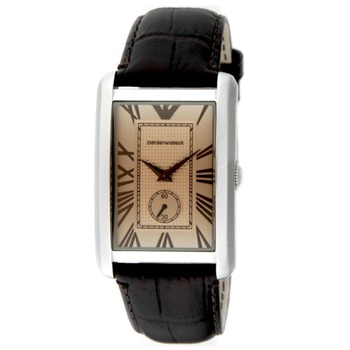 【送料無料】EMPORIO ARMANI エンポリオアルマーニ メンズ 腕時計 AR1605 エンポリオ・アルマーニ エンポリ アルマーニ 時計 とけい【あす楽対応】【プレゼント】【ブランド】【セール】
