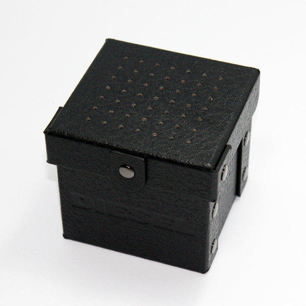 DIESEL ディーゼル 腕時計 時計 メンズ DZ4476 MEGA CHIEF メガチーフ  ミラー ブラック×ライトブラウン【あす楽対応】【RCP】【プレゼント】【ラッキーシール対応】【セール】