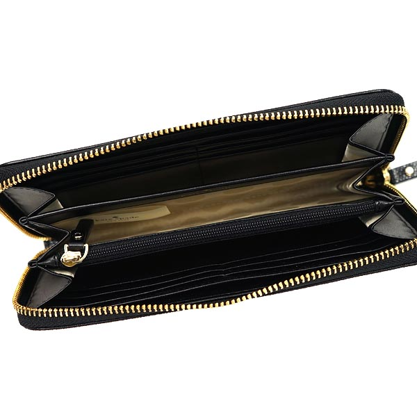 送料無料 ケイトスペード 財布 長財布 kate spade PWRU3913 096 Black Deco Beige Cedar Street Dot Lacey ドット ラウンドファスナー RCPプレゼント商品入れ替えのため大特価ブランド0wXOPk8n