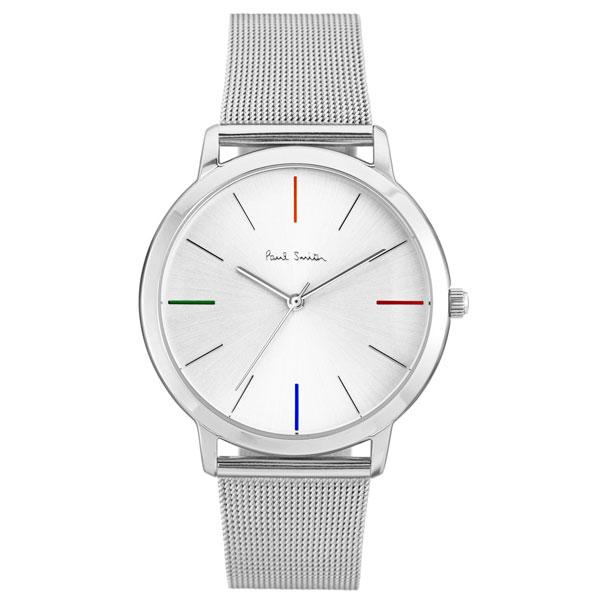 【超目玉】ポールスミス 時計 Paul Smith 腕時計 P10054 MA エムエー メンズ ウォッチ メッシュベルト シルバー とけい【送料無料】【あす楽対応】【プレゼント】【商品入れ替えのため大赤字特価】【セール】
