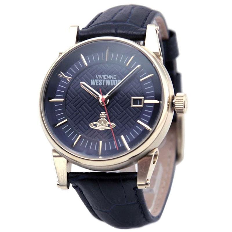 時計 腕時計 ヴィヴィアン とけい ビビアン Westwood VV065BLBL【送料無料】【あす楽対応】【プレゼント】【ラッキーシール対応】【セール】 ウエストウッド メンズ Vivienne