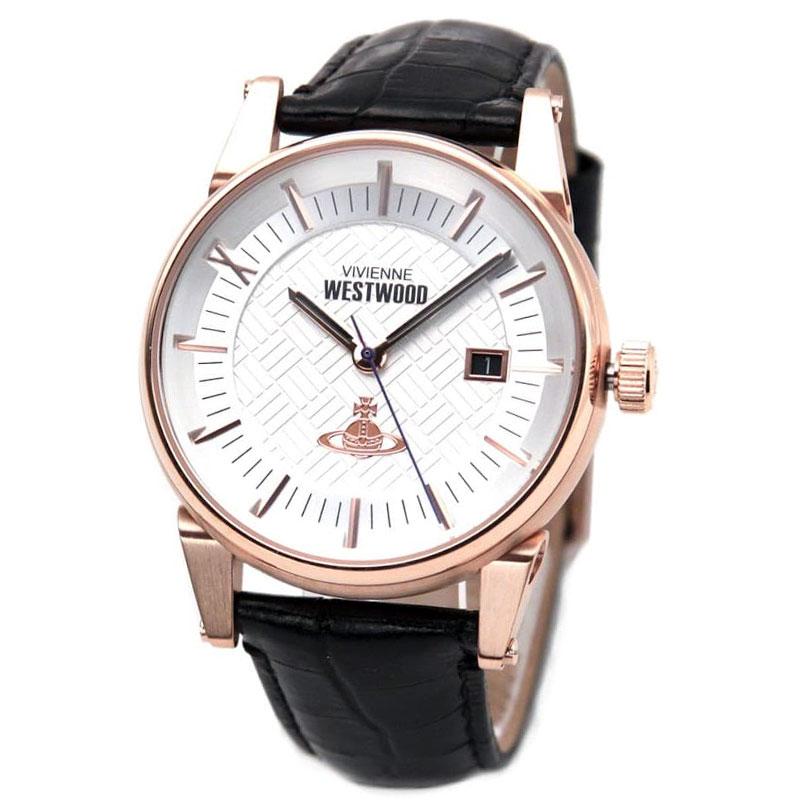 Vivienne Westwood ヴィヴィアン ウエストウッド メンズ 腕時計 時計 とけい ビビアン VV065SWHBK【送料無料】【あす楽対応】【プレゼント】【ブランド】【ラッキーシール対応】【セール】