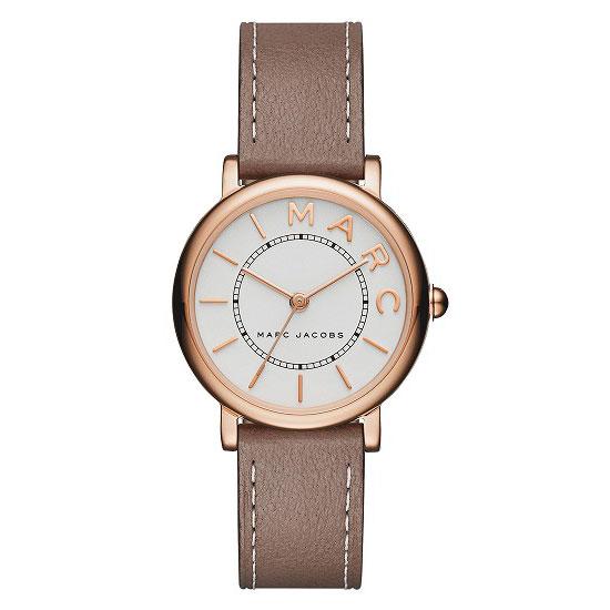 【送料無料】マークジェイコブス 時計 MARC JACOBS 腕時計 レディース MJ1538 時計 ROXY 28 ロキシー ホワイト×ピンクゴールド×グレーベージュ【あす楽対応】【プレゼント】【ブランド】【ラッキーシール対応】