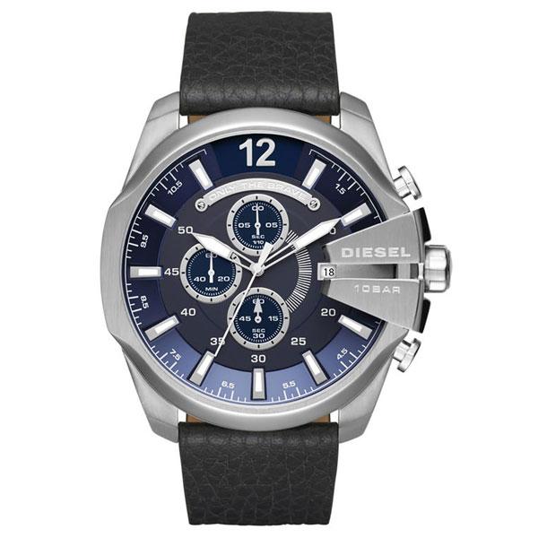 【送料無料】ディーゼル 時計 DIESEL 腕時計 DZ4423 メンズ クロノグラフ MEGA CHIEF メガチーフ ネイビー×ブラック とけい ウォッチ【あす楽対応】【ブランド】【プレゼント】【セール】
