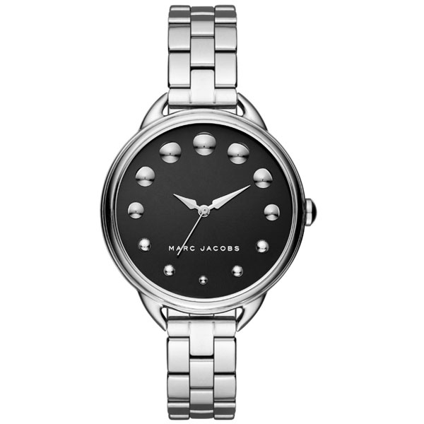 【送料無料】マークジェイコブス 時計 MARC JACOBS 腕時計 レディース MJ3493 Betty 36 ベティ36 ブラック×シルバー 【あす楽対応】【プレゼント】【ブランド】【セール】