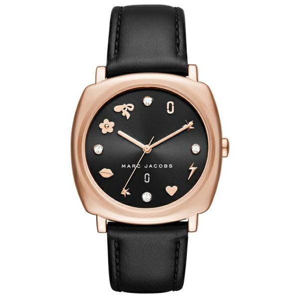 【送料無料】マークジェイコブス 時計 MARC JACOBS 腕時計 レディース MJ1565 時計 MANDY マンディ ブラック×ピンクゴールド 【あす楽対応】【プレゼント】【ブランド】【ラッキーシール対応】【セール】