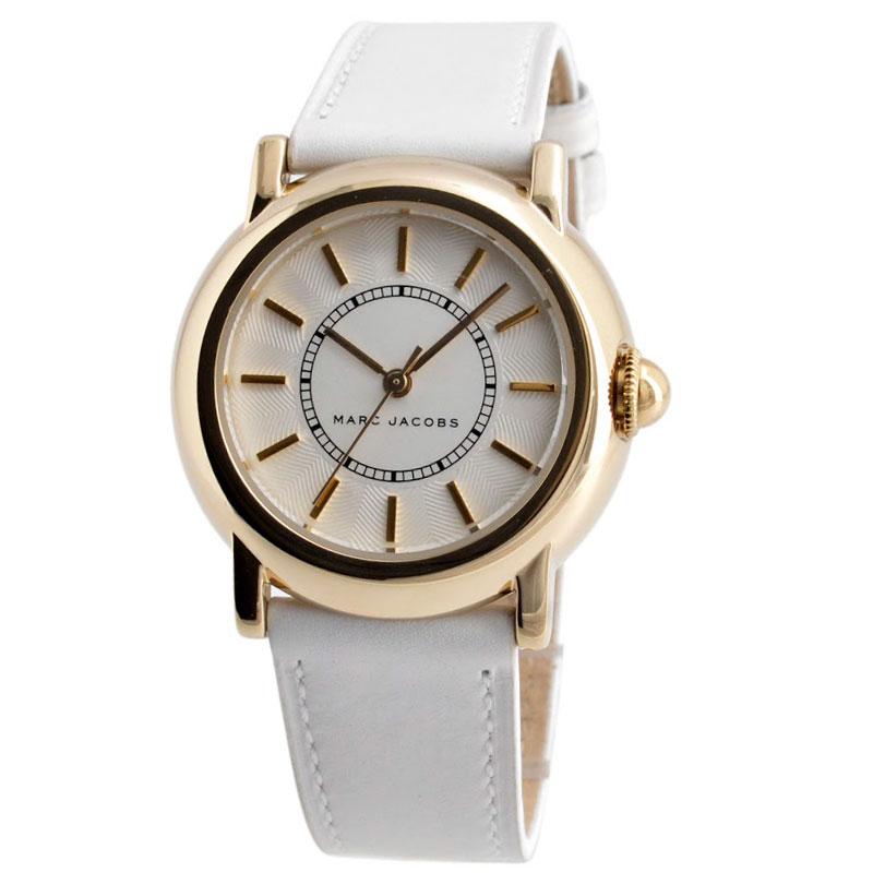 【送料無料】マークジェイコブス 時計 MARC JACOBS 腕時計 レディース MJ1449 COURTNEY コートニー シルバー×ゴールド×ホワイト【あす楽対応】【プレゼント】【ブランド】【セール】