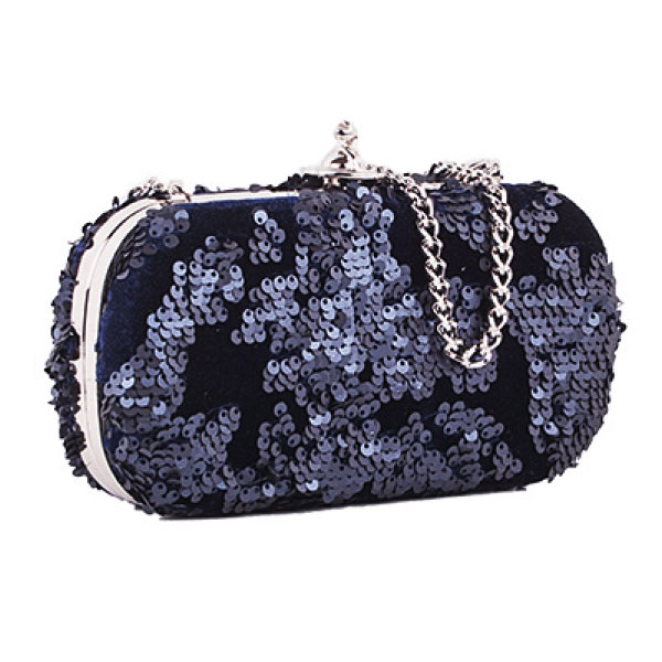 【超目玉】【送料無料】Vivienne Westwood ヴィヴィアン ウエストウッド バッグ クラッチバッグ パーティーバッグ クラッチ ショルダーバッグ スパンコール 鞄 ビビアン 131247 ROME NAVY【あす楽対応】【ブランド】【セール】