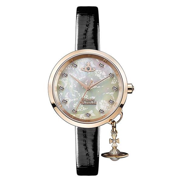【送料無料】 ヴィヴィアンウエストウッド 時計 ヴィヴィアン 腕時計 レディース Vivienne Westwood VV139WHBK シェル×ブラック×ピンクゴールド ヴィヴィアン・ウエストウッド【あす楽対応】【ブランド】【ラッキーシール対応】