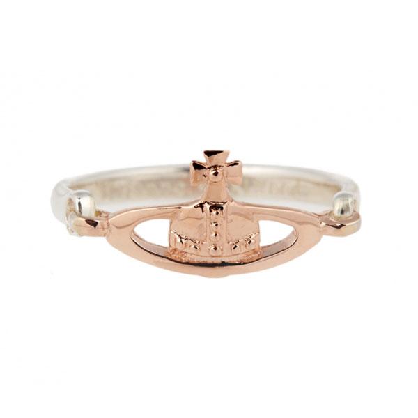 【送料無料】ヴィヴィアン ウエストウッド リング 指輪 Vivienne Westwood ビビアン 64040011-G002 SR112-3 VENDOME RING PINK GOLD スターリングシルバー シルバー925【あす楽対応】【ブランド】【プレゼント】